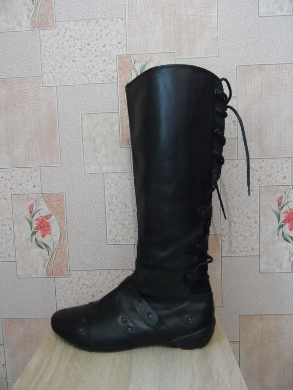 Кожаные демисезонные сапоги spm shoes & boots, 41р., 42р., 27см., голландия, цена - 950 грн, #48244717, купить по доступной цене | Украина - Шафа