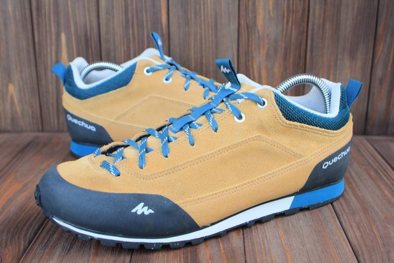 Ботинки quechua замша франция 42р кроссовки треккинговые: купить по доступной цене в Киеве и Украине   SHAFA.ua