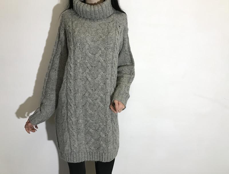 Женский удлиненный свитер (туника) george ( джордж м-лрр оригинал серый) George, цена - 289 грн, #48296778, купить по доступной цене | Украина - Шафа