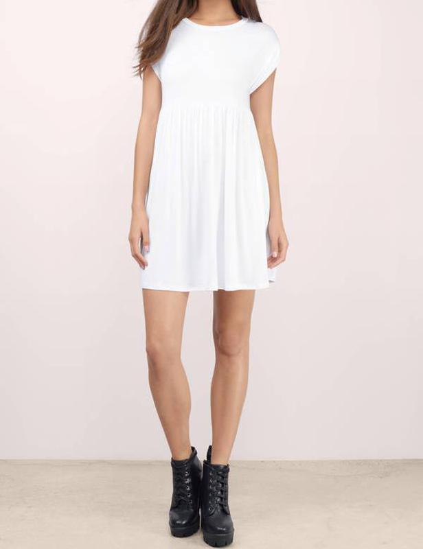 fd77d067359 Белое серое летнее короткое платье футболка в катышки1 фото ...