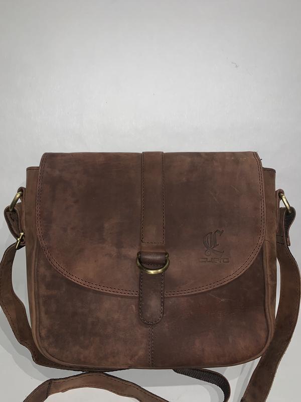 Англия! мужская кожаная фирменная сумочка на/ через плечо cuero. Англия, цена - 455 грн, #48319511, купить по доступной цене | Украина - Шафа