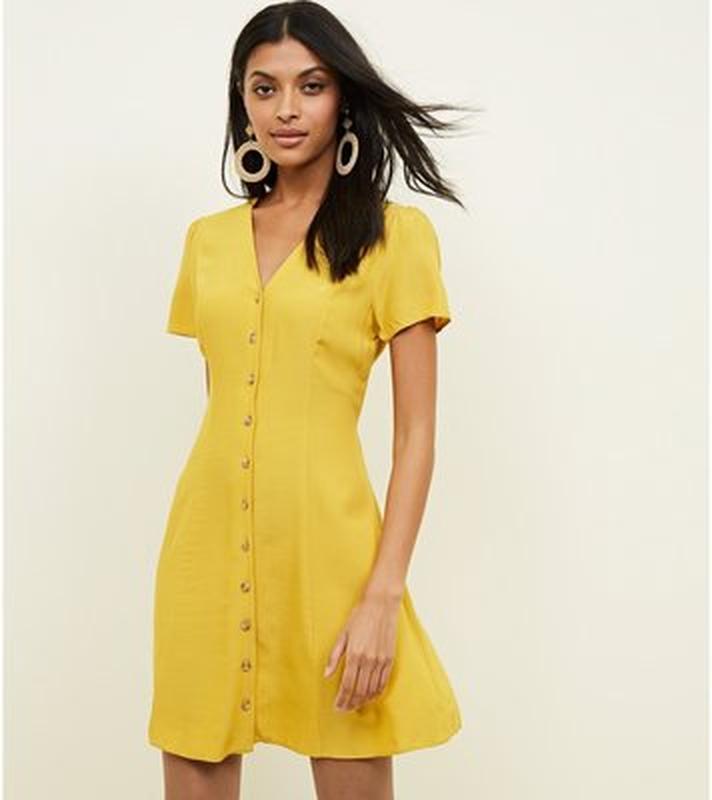 Вискоза сочное платье на пуговицах размер m-l New Look, цена - 100 грн, #48323959, купить по доступной цене | Украина - Шафа