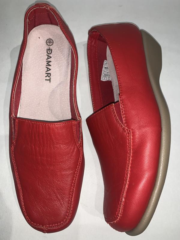 Женские кожаные фирменные туфли damart. размер 41. стелька 26.5 Damart, цена - 355 грн, #48333105, купить по доступной цене   Украина - Шафа