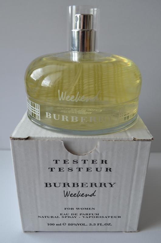Burberry weekend for women парфюмированная вода тестер 100 мл франция  оригинал1 ... 6bd61e1b035