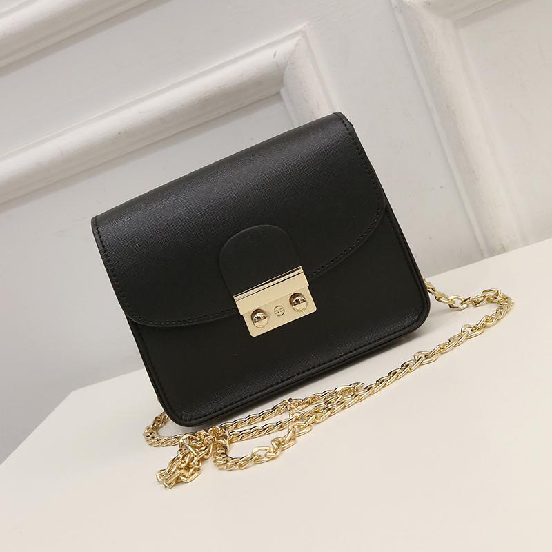7afc88f49838 Черная маленькая сумка на цепочке, цена - 350 грн, #5656566, купить ...