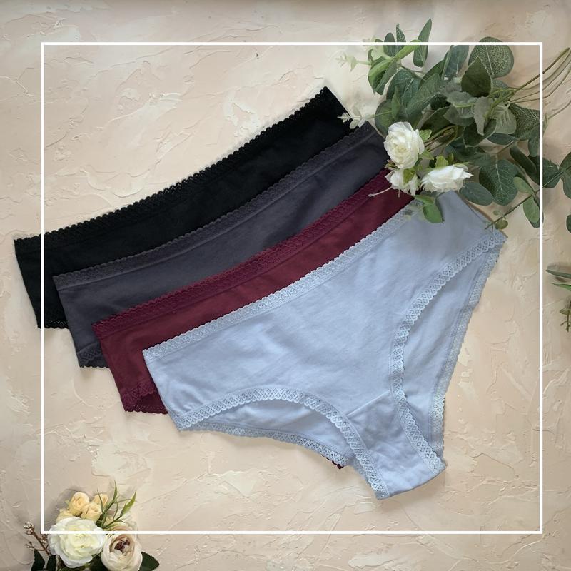 Хлопковые трусы шорты h&m, размер m, женское нижнее белье H&M, цена - 100 грн, #48486278, купить по доступной цене | Украина - Шафа