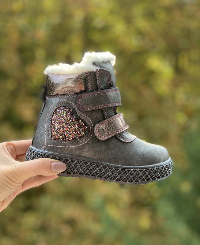 Зимние ботинки тм. kimbo-o р.23-28, цена - 410 грн, #48556159, купить по доступной цене | Украина - Шафа