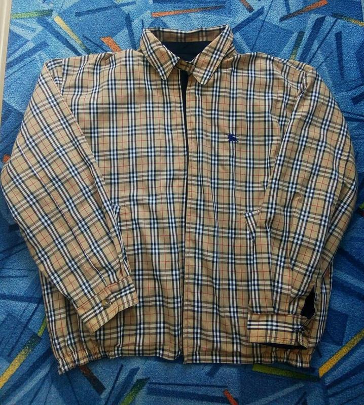 Винтажний харик, куртка плащ burberry фул клетка Burberry, цена - 3850 грн, #48659474, купить по доступной цене   Украина - Шафа