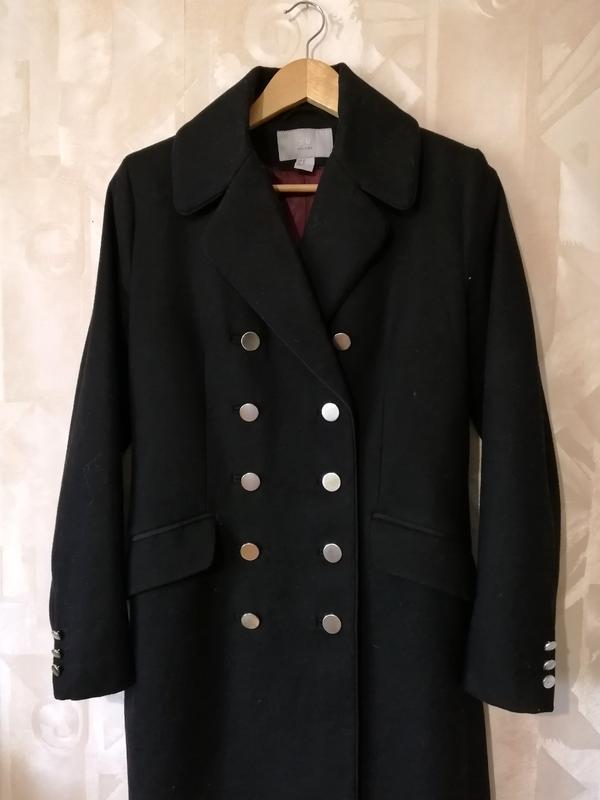 Женское пальто, пальто милитари, двубортное пальто,пальто честерфильд. H&M, цена - 1599 грн, #48729828, купить по доступной цене | Украина - Шафа