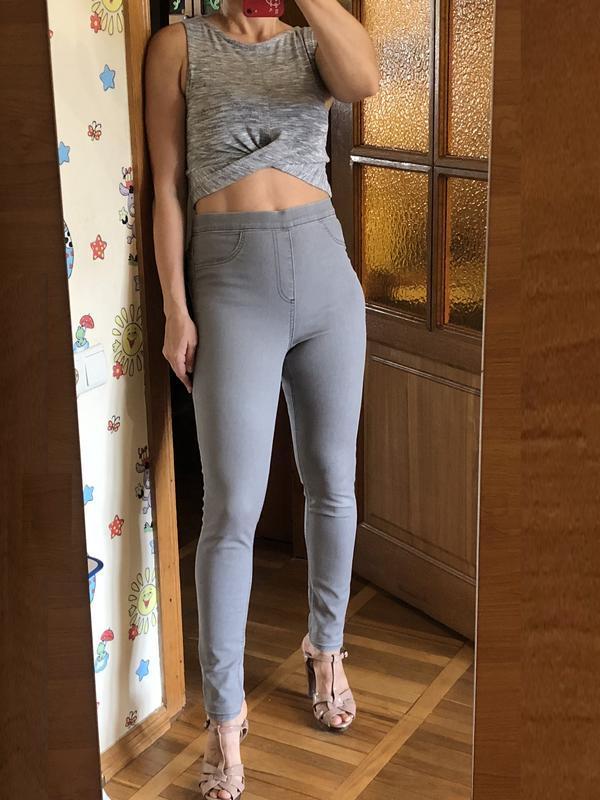 Джинсовые леггинсы, джинсы скинни с высокой посадкой m&s Marks & Spencer, цена - 200 грн, #48827061, купить по доступной цене | Украина - Шафа