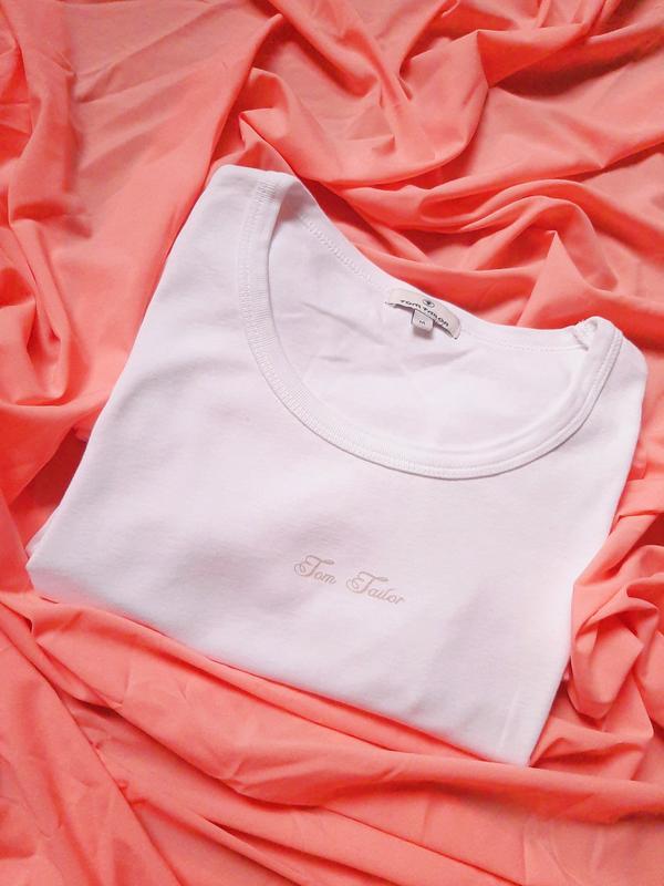 Базова футболка білого кольору від tom tailor? Tom Tailor, цена - 120 грн, #48842673, купить по доступной цене | Украина - Шафа