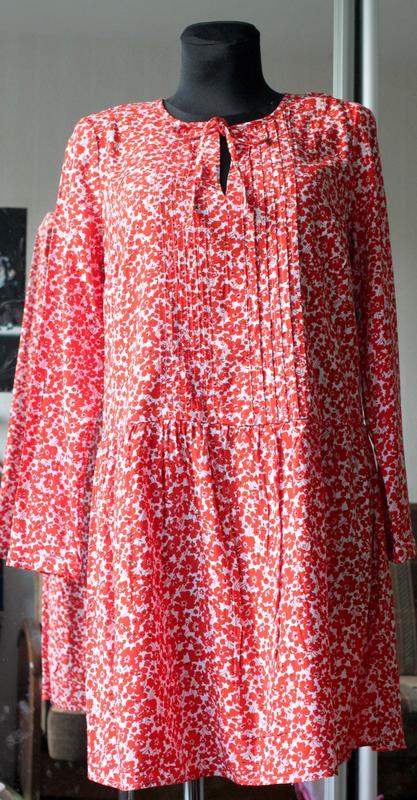 Літня нова сукня міді платье кольоровий принт віскоза old navy (Old Navy)  за 400 грн.  9536a8130f7e9
