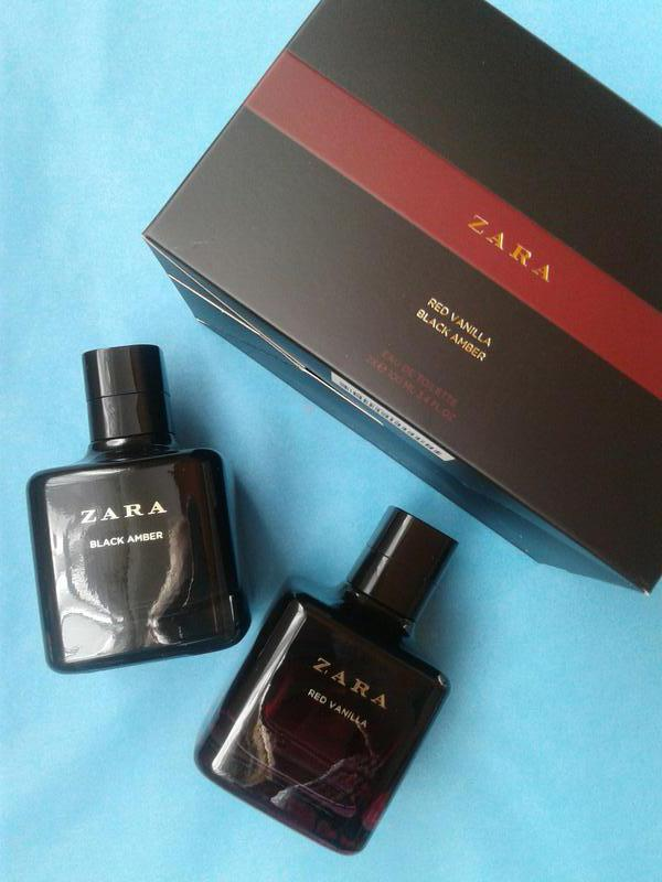 Zara red vanilla + zara black amber 2x100 ml1 фото