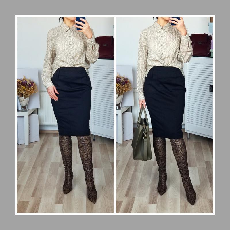 Деловая юбка карандаш в рубчик высокая посадка River Island, цена - 280 грн, #48970182, купить по доступной цене | Украина - Шафа