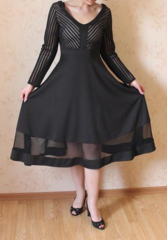 Чёрное вечерннее платье H&M, цена - 250 грн, #49065105, купить по доступной цене   Украина - Шафа