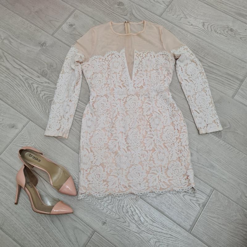 Платье силуэтное круживо м-л- хл размер H&M, цена - 275 грн, #49111707, купить по доступной цене   Украина - Шафа