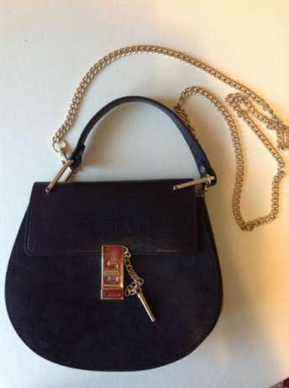 0ef1a3b43960 Черная сумка chloe, цена - 700 грн, #5758476, купить по доступной ...