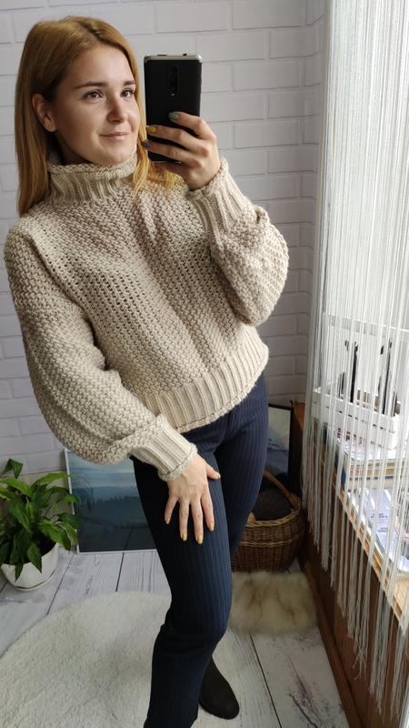Трендовый объемный свитерок от h&m с горлом H&M, цена - 350 грн, #49280519, купить по доступной цене | Украина - Шафа