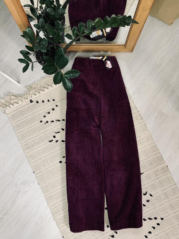 Нові вільветові штани палаццо від marks&spencer? Marks & Spencer, цена - 290 грн, #49303367, купить по доступной цене | Украина - Шафа