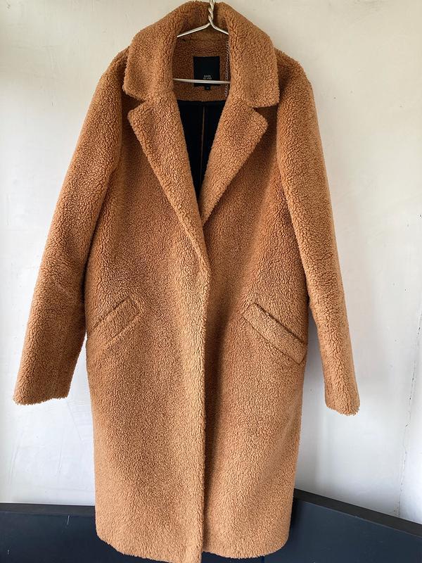 Пальто тедди River Island, цена - 680 грн, #49326271, купить по доступной цене | Украина - Шафа