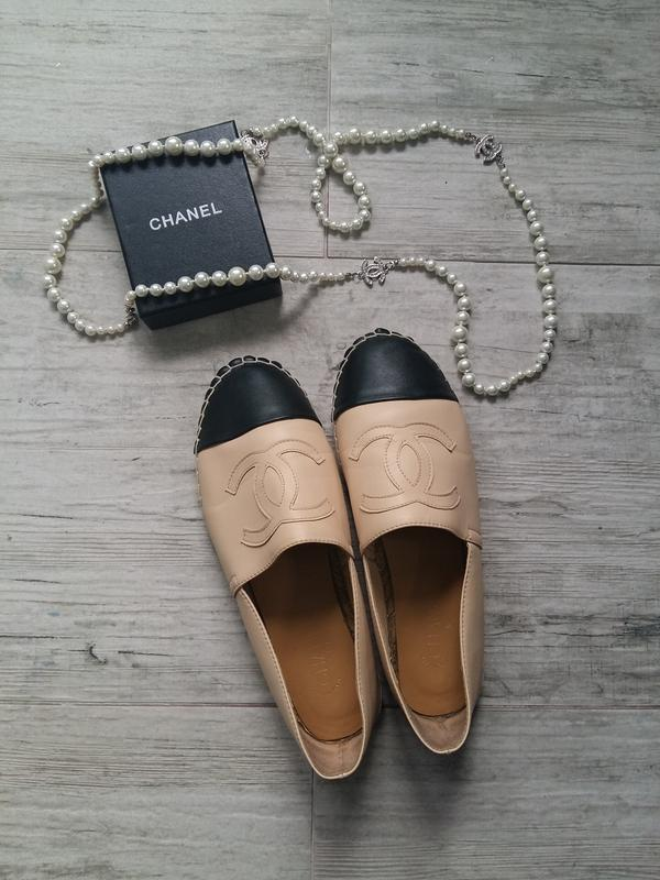 7d59fd34f6fc Балетки эспадрильи chanel Chanel, цена - 660 грн,  5784585, купить ...