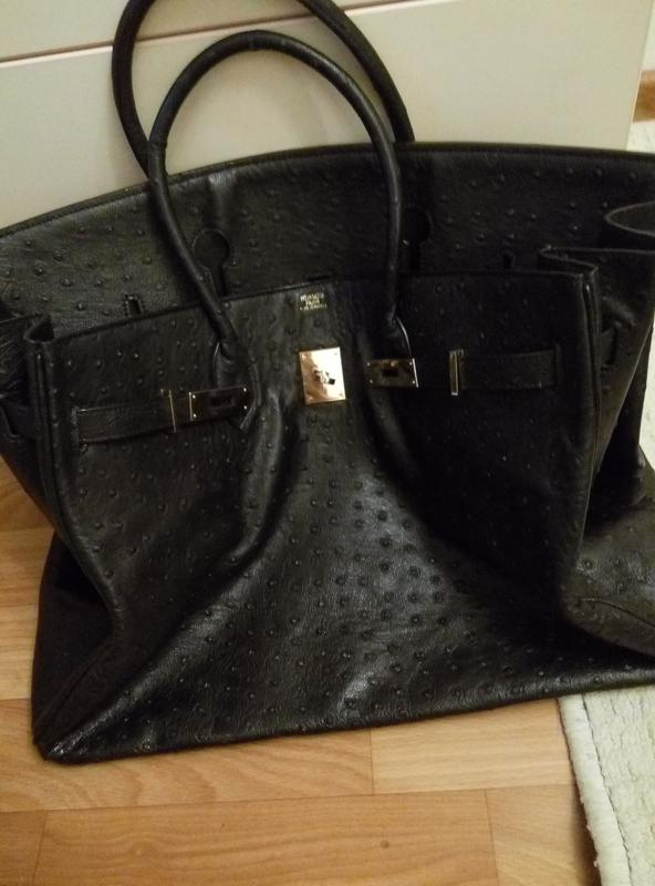 Кожаная сумка hermes 40 см Hermes, цена - 900 грн,  5795212, купить ... 1d0de409e6f