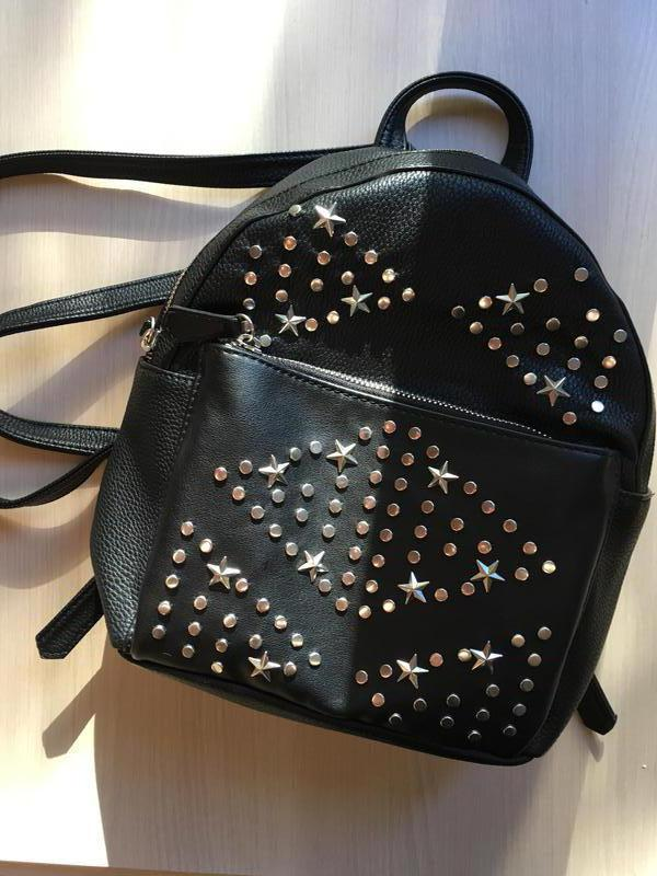 dd8a85ab4cc6 Маленькая сумка/маленький черный рюкзак/портфель stradivarius1 фото ...