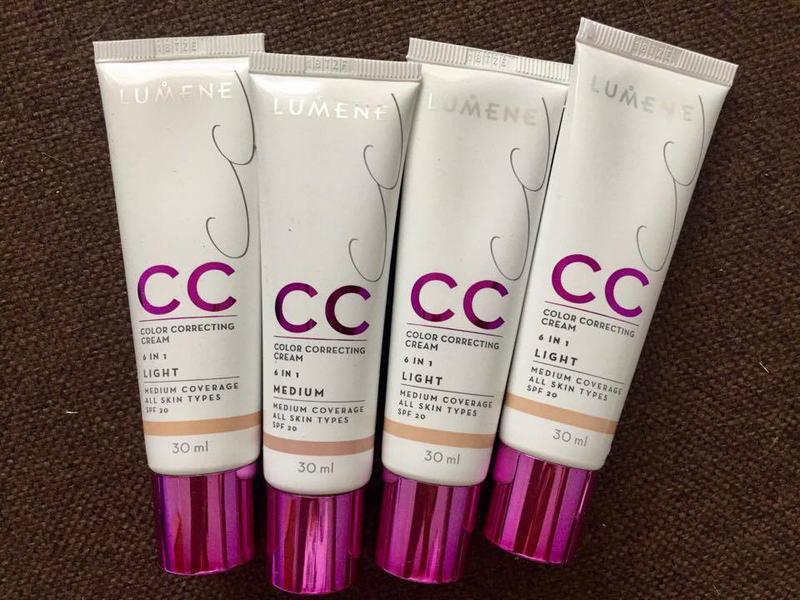 lumene cc powder review