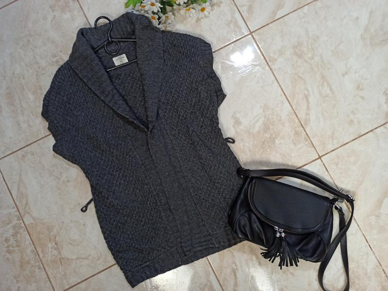 Красивый брендовый вязанный кардиган накидка h&m H&M, цена - 89 грн, #49777256, купить по доступной цене | Украина - Шафа