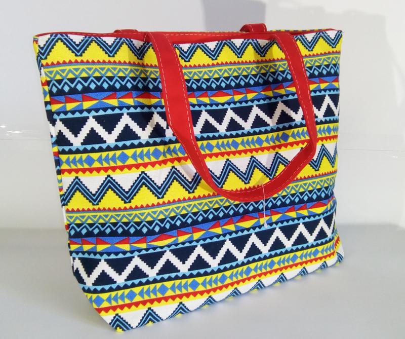 6d117c779646 Пляжная сумка хлопковая с орнаментом, цена - 99 грн,  5844789 ...