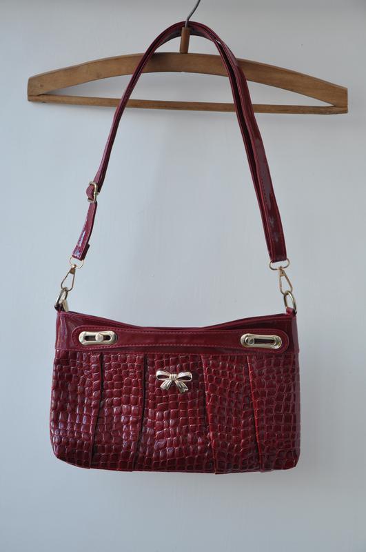 898ae7212982 Видео! новая сумка сумочка клатч красная лаковая, цена - 169 грн ...