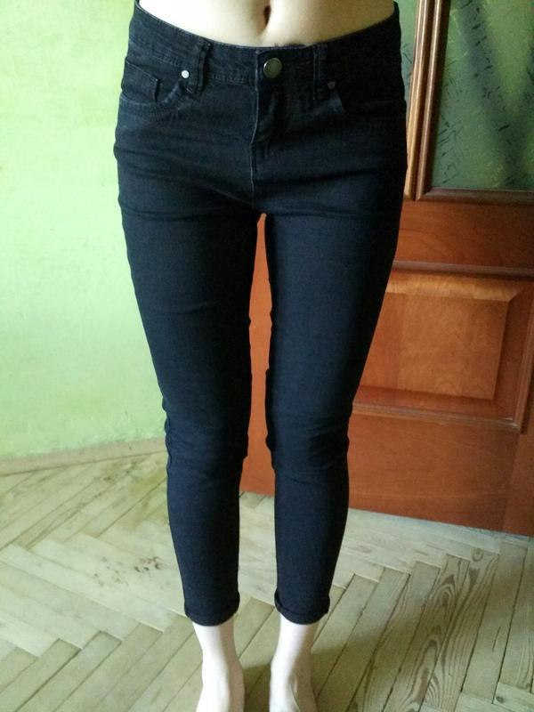 4a035dfad56 Denim co супер узкие скини чёрные джинсы высокая талия Denim Co ...