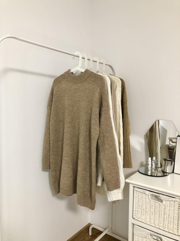 Шерстяное тёплое платье удлиненный свитер Pimkie, цена - 389 грн, #50067335, купить по доступной цене | Украина - Шафа