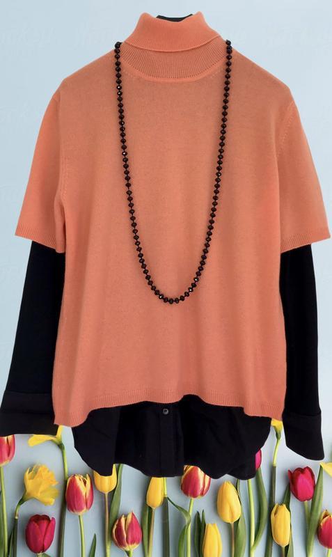 Персиковый ♥️♥️♥️ кашемировый гольф свитер alberto fabiani. Alberto Guardiani, цена - 860 грн, #50153013, купить по доступной цене | Украина - Шафа
