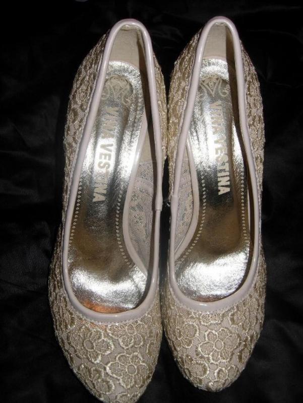 Шикарные туфли vina vestina цвета шампанского 38-391 ... 5d0d94cbccdd3