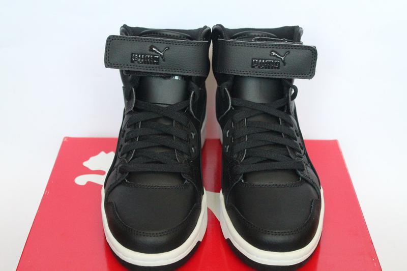 25e52e33a6b Оригинал. кожаные кроссовки puma. черные женские сникерсы пума (Puma) за  1520 грн.