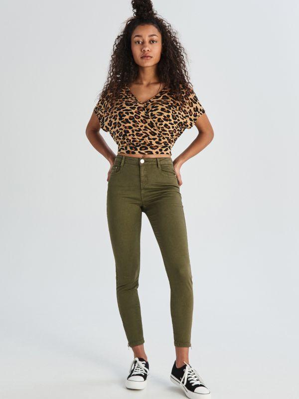 Crop super skinny джинсы скинни укороченные хаки m&s Marks & Spencer, цена - 200 грн, #50266630, купить по доступной цене | Украина - Шафа