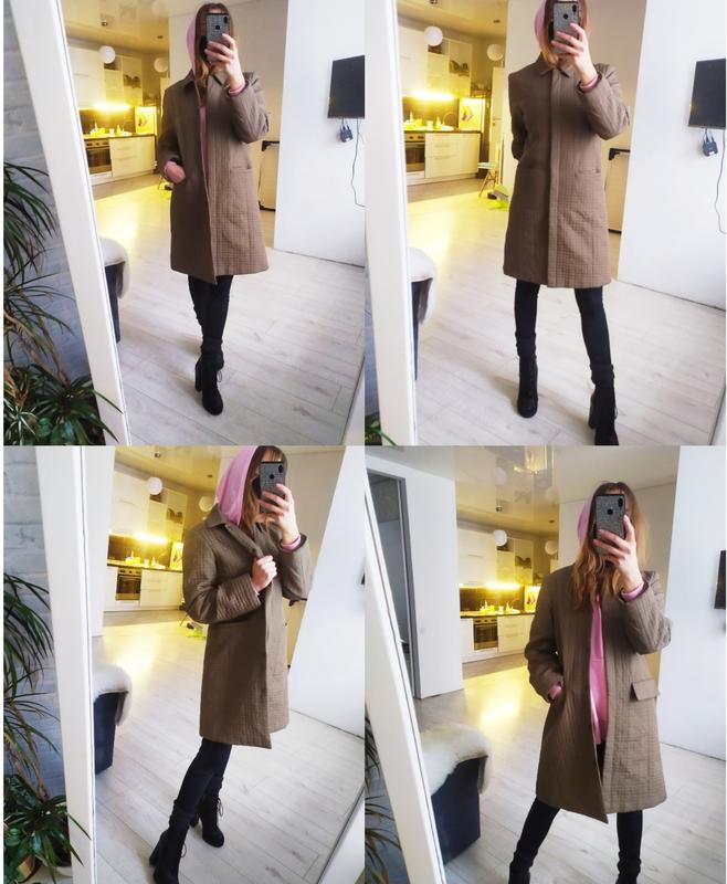 Стеганое пальто. пальто пуховик. B.Young, цена - 370 грн, #50267479, купить по доступной цене | Украина - Шафа