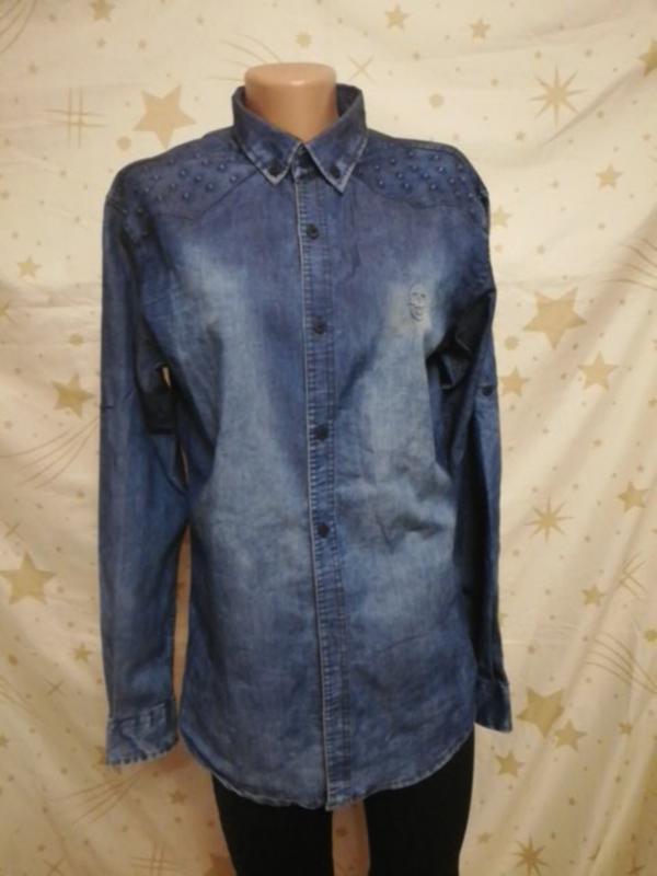 Джинсовая рубашка Турция, цена - 90 грн, #50309403, купить по доступной цене | Украина - Шафа