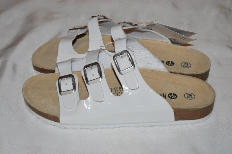 Шльопки шльопанці шкіряні esmara розмір 40 d12d6f55ce632