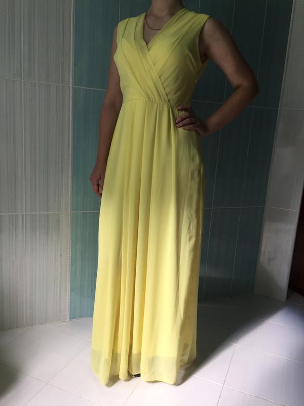 9c92fb10b32 Нежное шифоновое платье в пол1 ...
