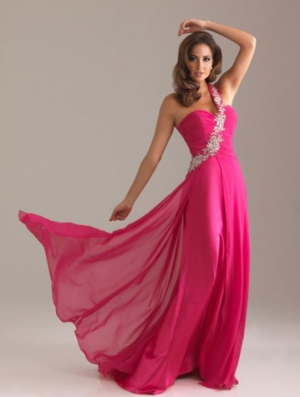 e1ae01aeb37 Вечернее платье на выпускной цвета фуксия1 фото ...
