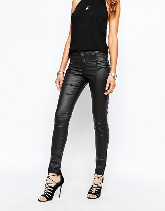 Брючки с напылением скинни джинсы с замками Noisy May, цена - 499 грн, #50813769, купить по доступной цене | Украина - Шафа