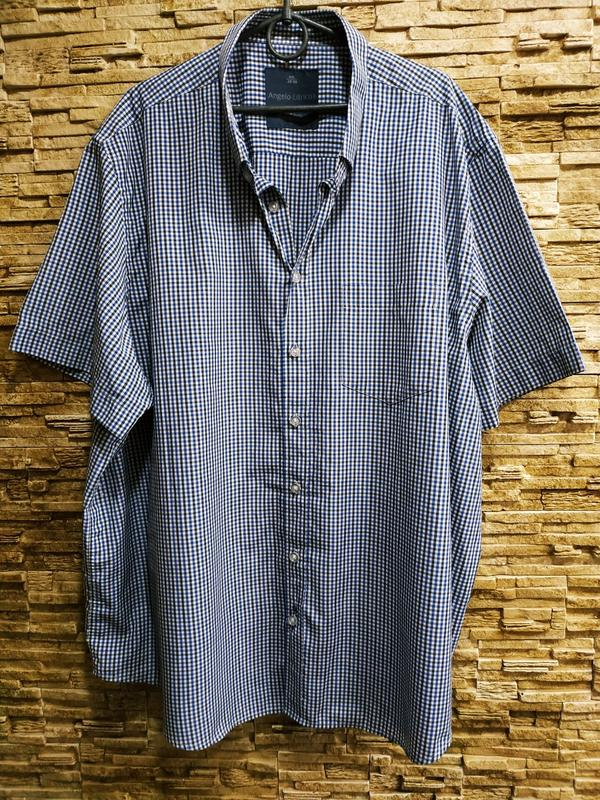 Красивая мужская рубашка очень большого размера Италия, цена - 250 грн, #50845133, купить по доступной цене | Украина - Шафа