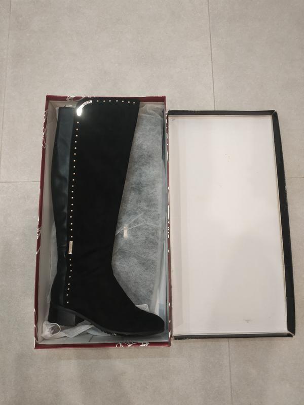 Черные ботфорты р.41-41,5- 42 T.Taccardi, цена - 750 грн, #51036605, купить по доступной цене | Украина - Шафа