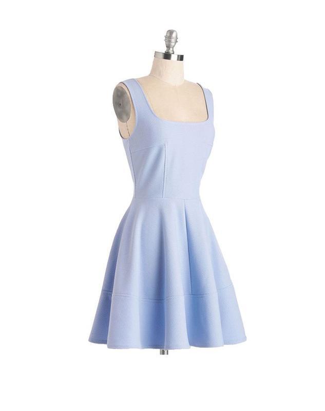 0b4ac5254b0 Небесно голубое платье s-ка новое ZARA