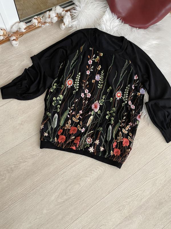 Шикарный свитер с вышивкой George, цена - 249 грн, #51389763, купить по доступной цене | Украина - Шафа