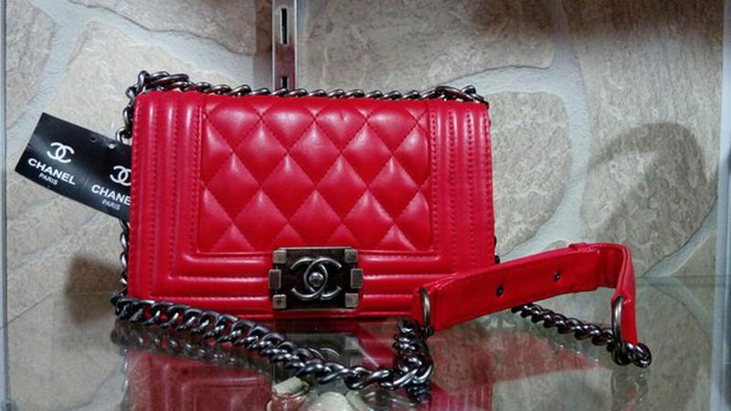 Сумка клатч сумочка в стиле chanel boy mini стеганая красная, цена ... 6f1dc803725