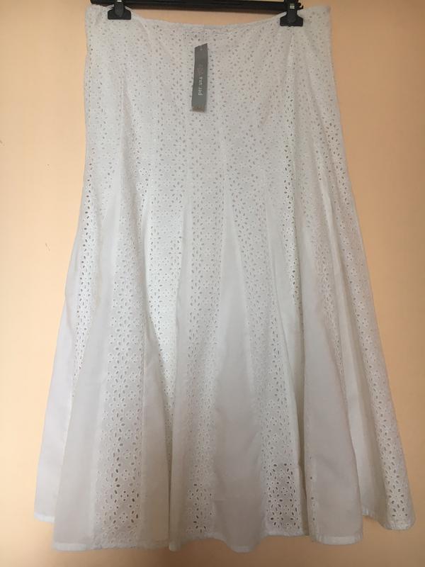 68b88a784da Нарядная расклешенная юбка из х б ткани.1 ...