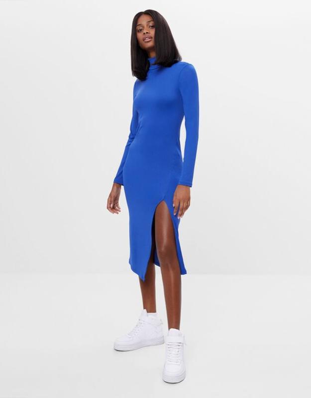 Шикарные , стильное платье миди bershka Bershka, цена - 570 грн, #51846097, купить по доступной цене | Украина - Шафа